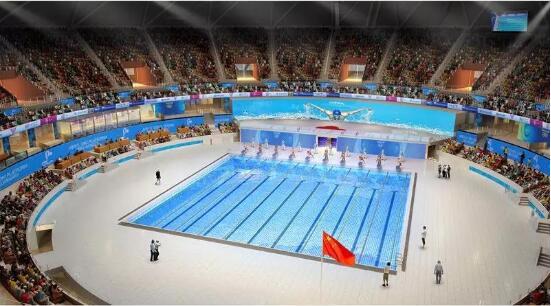 """""""小莲花""""里的泳池好惊艳!杭州这项国际顶级赛事你也能参与"""