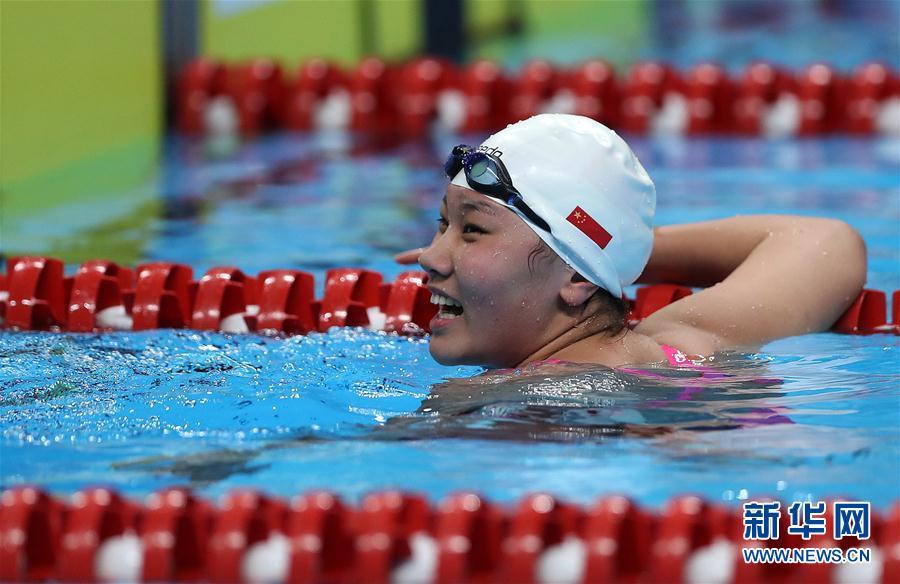 女子200米仰泳:中国选手柳雅欣夺冠